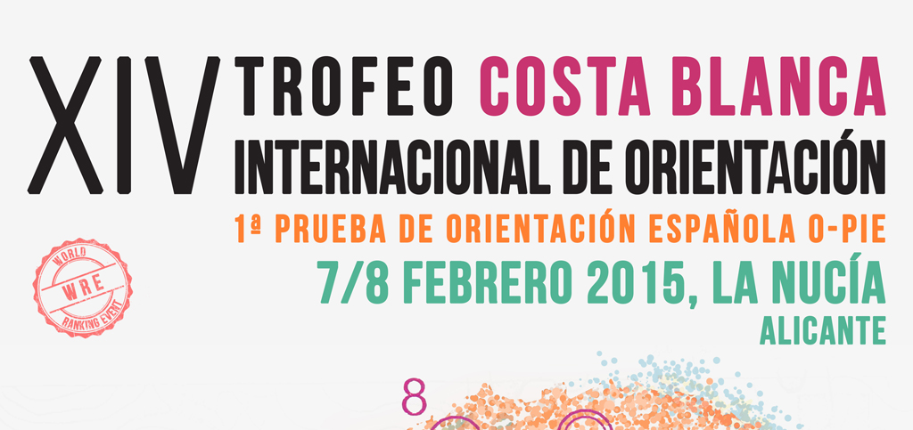 1ª LE O-PIE 2015 – XIV TROFEO INTERNACIONAL COSTA BLANCA DE ORIENTACIÓN